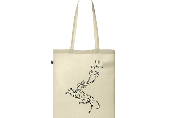 She-Wolves tote bag – Illustration by Belle Mellor